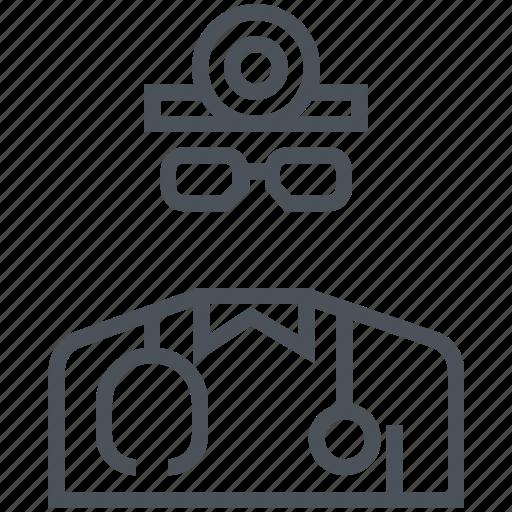 avatar, doctor, job, professor, surgeon icon