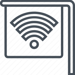 internet, password, wi-fi, wireless icon