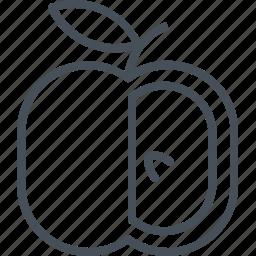 apple, vegatable icon