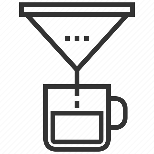 beverage, coffee, cup, drink, drip, mug icon