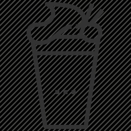 beverage, coffee, drink, espresso, shake icon