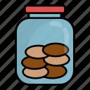 coffe, cookies, biscuits