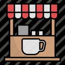 coffe, store, shop