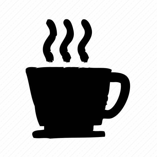 coffee, cup, drink, hot, restaurant icon