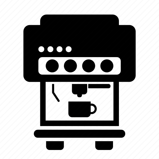 appliance, coffee, machine, maker icon