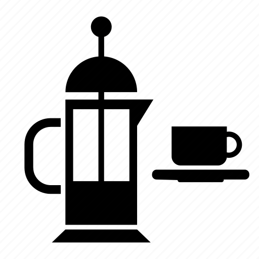 coffee, cup, maker, pot, vessel icon