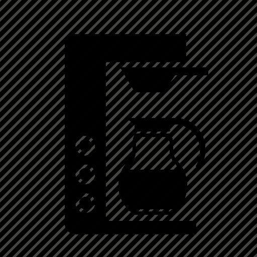 appliance, coffee, machine, maker, pot, vessel icon