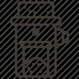 coffee, coffee grinder, coffee machine, grinder icon