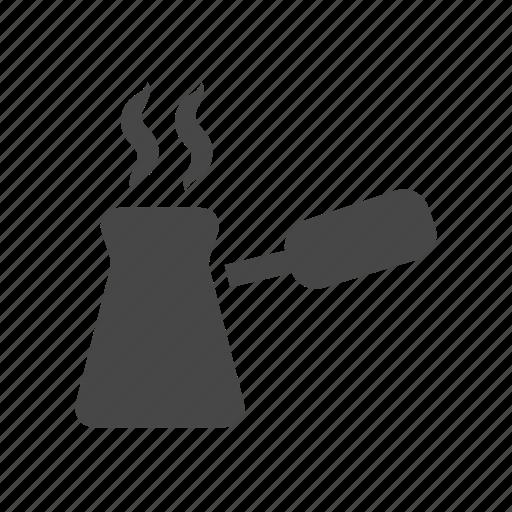 cezve, coffee, pot, turkish icon