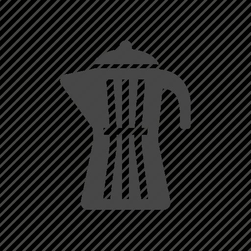 geyser, macchinetta, moka, pot icon