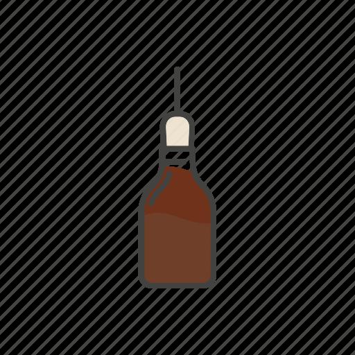 coffee, line, thin icon