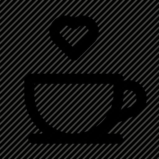 beans, coffee, espresso, hot, love, machine, mocha icon