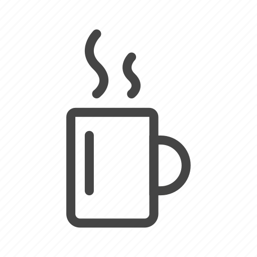 cafe, coffee, cup, drink, glass, hot, mug icon