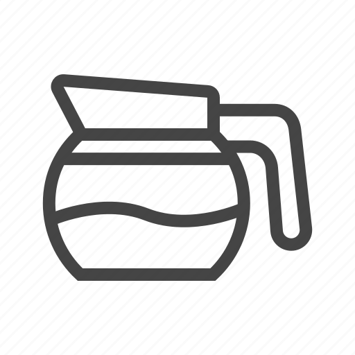 cafe, coffee, cup, drink, glass, hot, mug icon