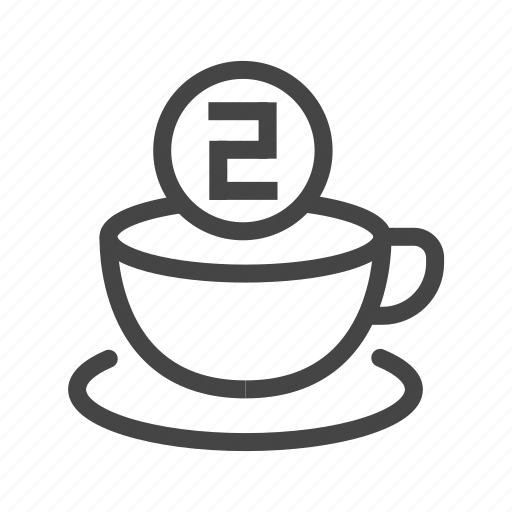beverage, coffee, cup, drink, glass, hot, restaurant icon