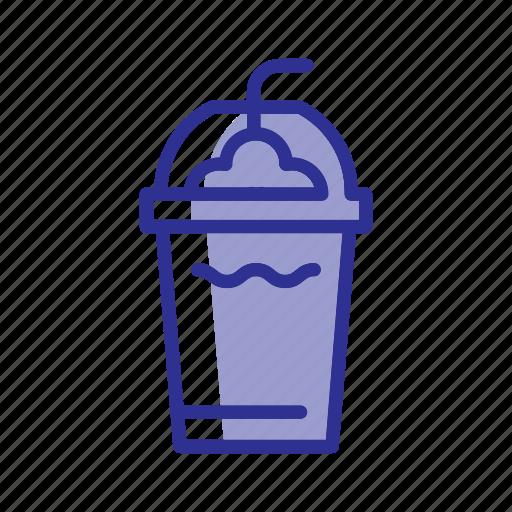 cafe, cocktail, coffee bar, drink, milk, milk shake icon