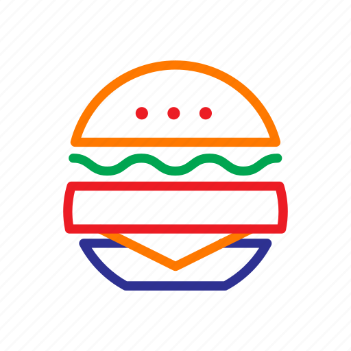 burger, cafe, coffee bar, eat, fast food, food, restaurant icon