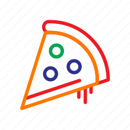 cafe, coffee bar, fast food, food, italian, pizza, restaurant icon