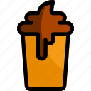 beverage, cafe, coffee, drink, ice icon
