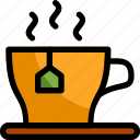 cup, drink, glass, hot, tea