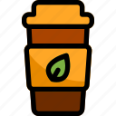 cafe, cup, drink, hot, tea icon
