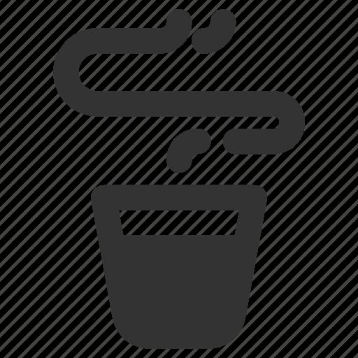 coffee, cup, espresso, shot icon