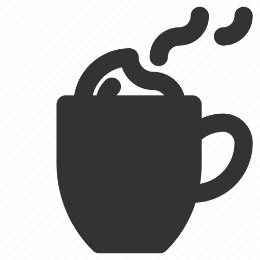 chocolate, coffee, cup, latte icon