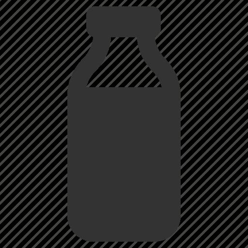 bottled, coffee, drink, milk icon