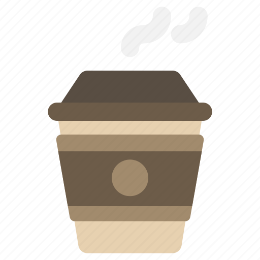 coffee, cup, latte, takeaway icon