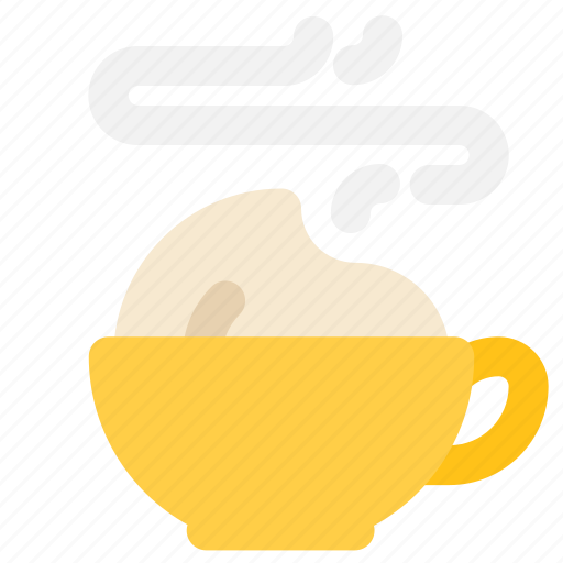 cappuccino, coffee, cup, latte icon