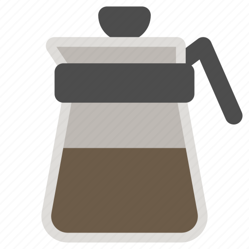 coffee, decanter, kitchenware, server icon