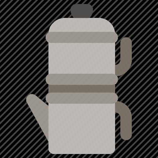 coffee maker, coffee pot, flip, neapolitan icon