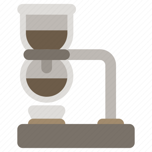 coffee brewer, coffee maker, coffeemaker, siphon icon