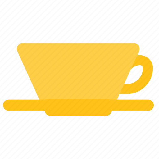 coffee, dripper, paper, pour over icon