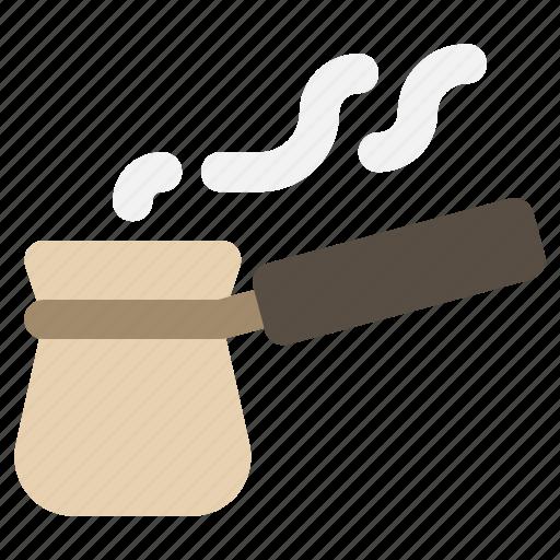 coffee maker, coffee pot, ibrik, turkish icon