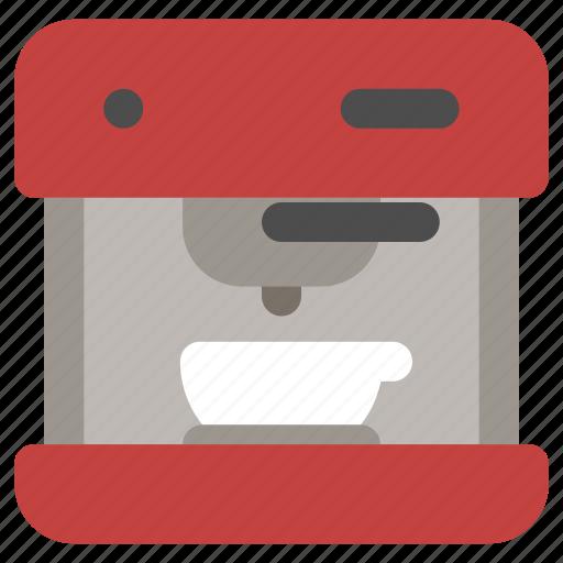 Automatic, coffee, espresso, machine icon - Download on Iconfinder