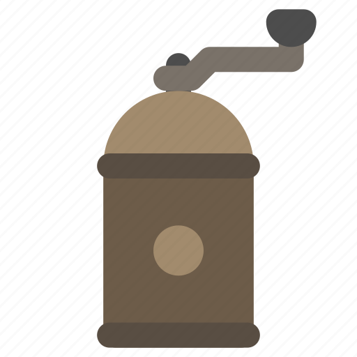 coffee, grinder, manual, mill icon