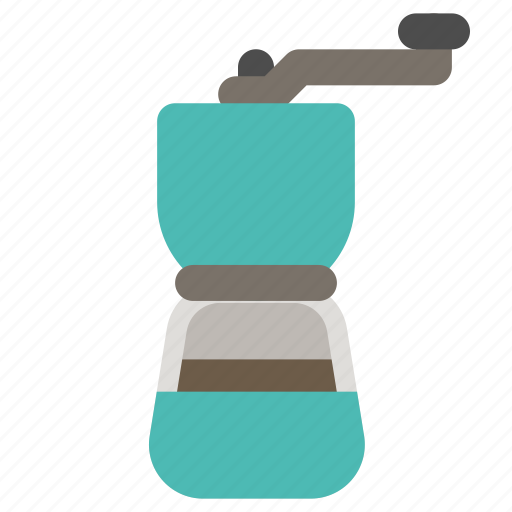 Coffee, grinder, manual, mill icon - Download on Iconfinder