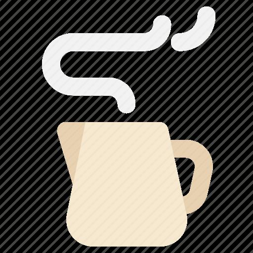 jug, kettle, milk, server icon