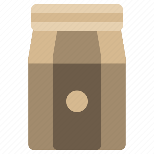 bag, coffee, ground, instant icon