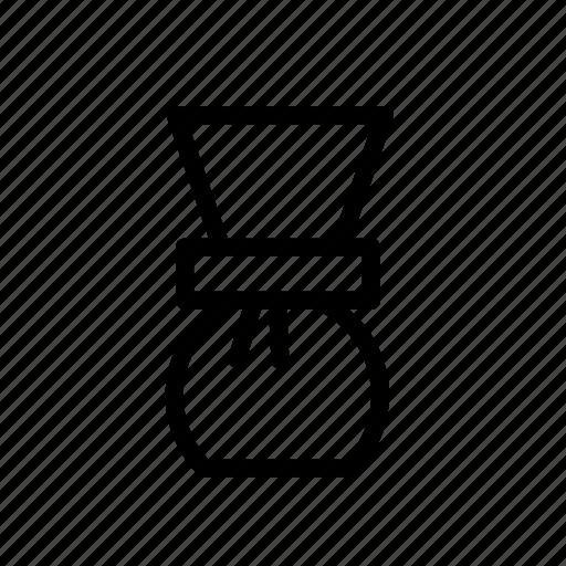 brewing, cafe, chemex, coffee icon