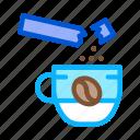 beverage, coffee, drink, energy, grinder, make, sugar