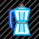 boiling, coffee, drink, energy, grinder, make, pot