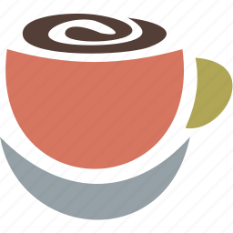 coffee, cup, drink, food, meal icon