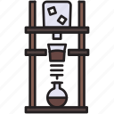 coffee, cold, brew, tower, maker, drip, coldbrew