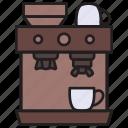 coffee, expresso, maker, coffee machine