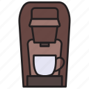 coffee, maker, single, coffee machine