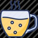 coffee, cup, drink, hot, milk, mug, tea