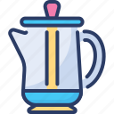 automatic, brew, coffee, manual, percolator, pot, vertical tube