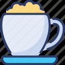barista, cappuccino, coffee, cream, cup, espresso, flavored
